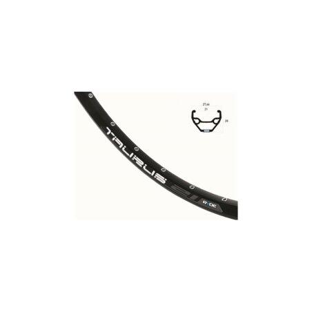 Laufrad VR Rigida Taurus 21 Disc schwarz + Shimano...