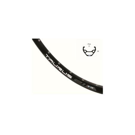 """Laufrad VR Rigida Taurus Disc schwarz + Shimano Deore M6000BL Center Lock schwarz 29"""""""