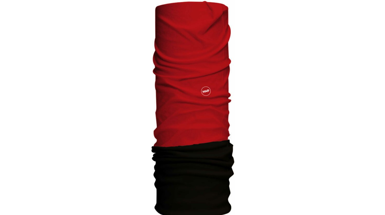 HAD Solid Fleece Schlauchtuch Red - Fleece: Black