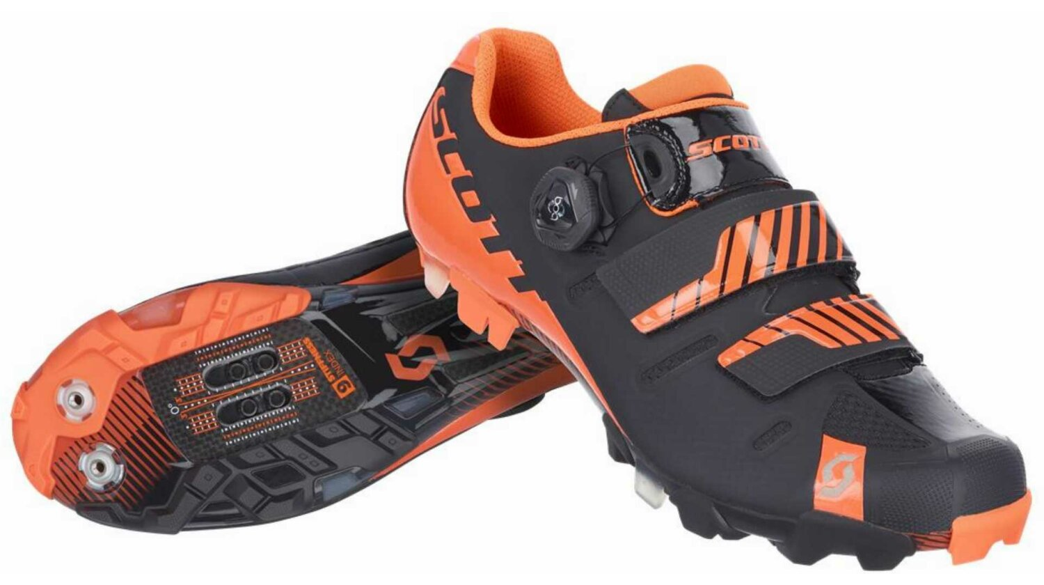 Scott MTB Premium Schuh black/neon orange gloss 39