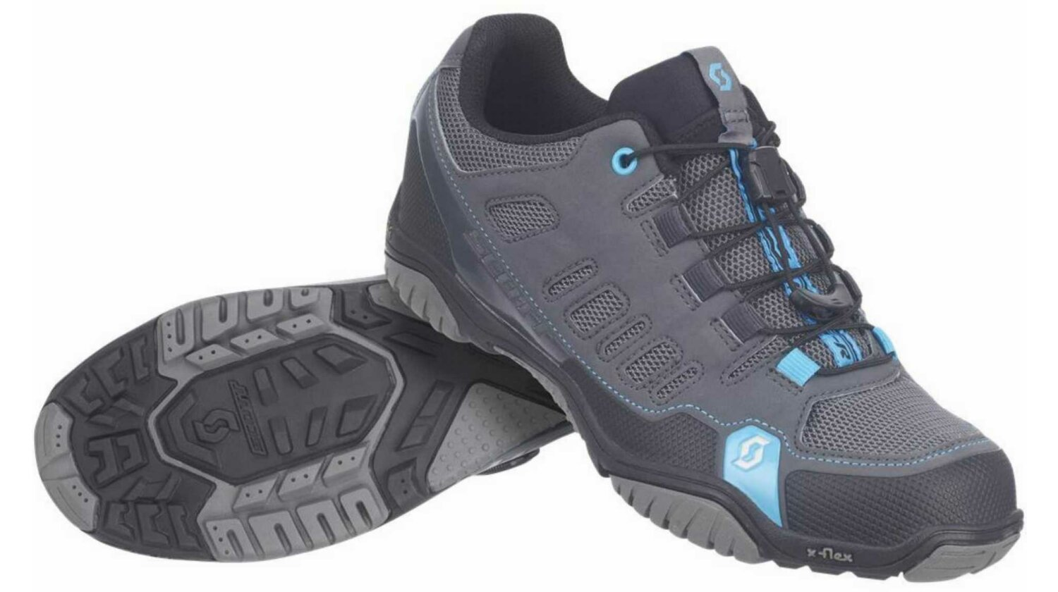 Scott Crus-r Lady Schuh anthracite/neon blue 37