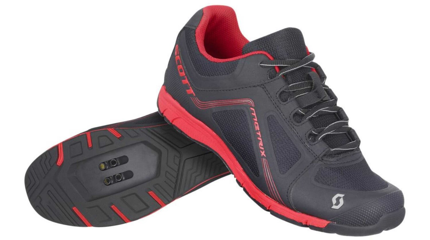 Scott Metrix Lady Schuh black/red 42