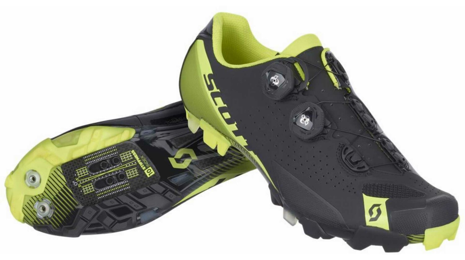Scott MTB RC Schuh black/neon yellow 48