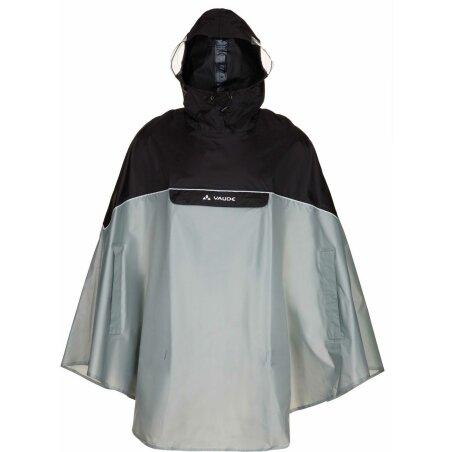 VAUDE Covero Poncho II schwarz/grau L