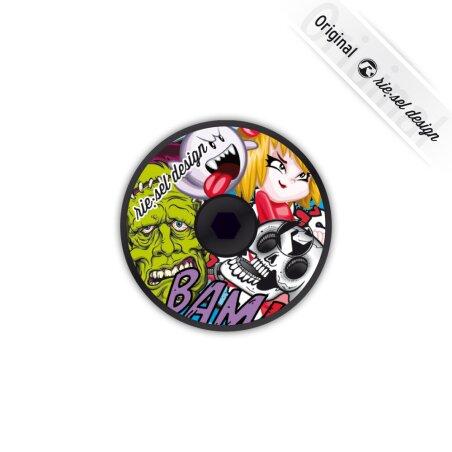 rie:sel deck:el A-Head-Plug Stickerbomb colour