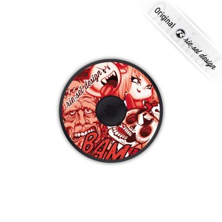 rie:sel deck:el A-Head-Plug Stickerbomb red