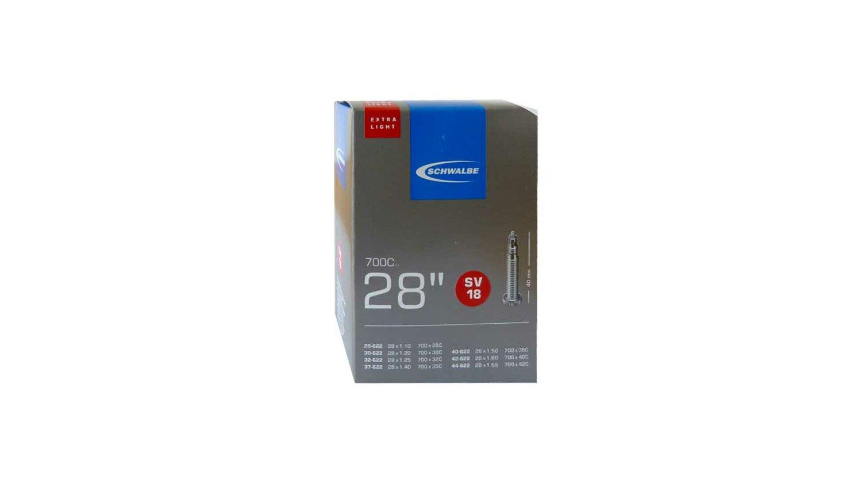 Schwalbe Nr.18 Extralight Schlauch 28 SV 40mm