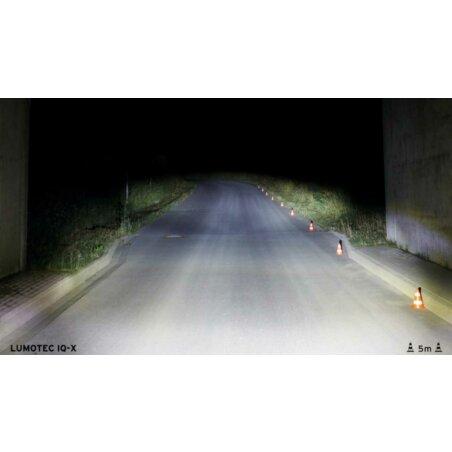 Busch & Müller Lumotec IQ-X LED 100 Lux Scheinwerfer schwarz