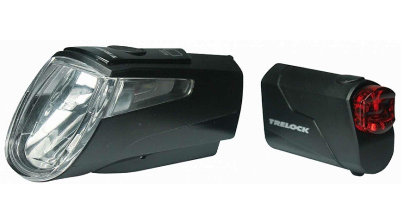 Trelock LS 460 I-GO® POWER + LS 720 Reggo Akku-Beleuchtungsset schwarz
