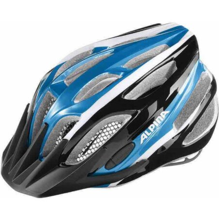 Alpina FB Junior 2.0 Kinder-Helm black-blue-white 50-55 cm