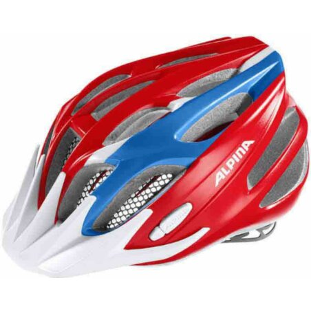 Alpina FB Junior 2.0 Kinder-Helm red-blue-white 50-55 cm