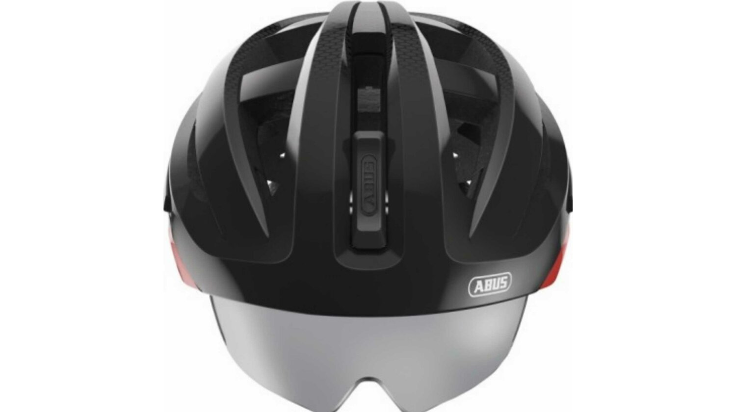 Abus In-Vizz Ascent Helm red comb M/ 54-58 cm