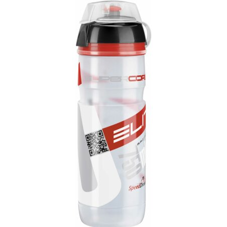 Elite Supecorsa MTB Scalatore Trinkflasche transparent...