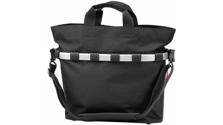 KLICKfix Reisenthel Bikebasket Oval M Gepäckträgertasche schwarz