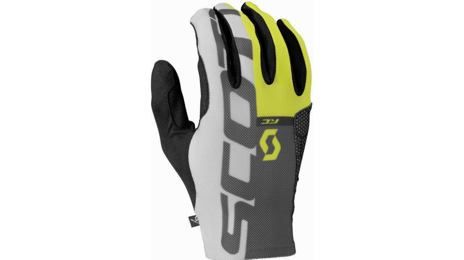 Scott Glove RC Pro Tec LF Langfingerhandschuh black/sulphur yellow XL
