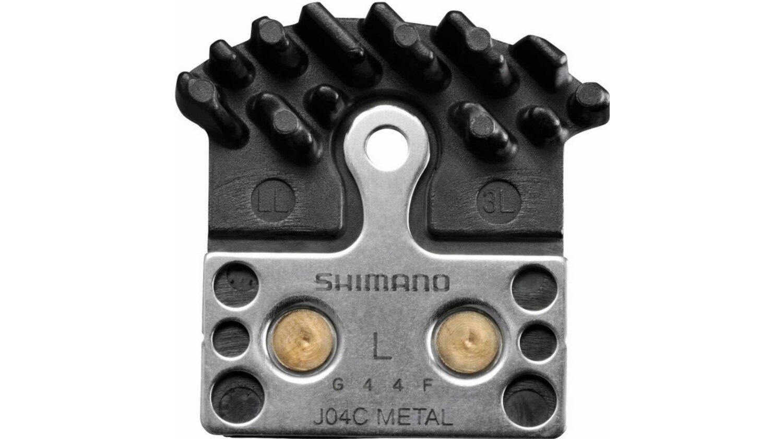 Shimano Ice-Tech J04C Metall mit Kühlrippen Scheibenbremsbeläge 1 Paar