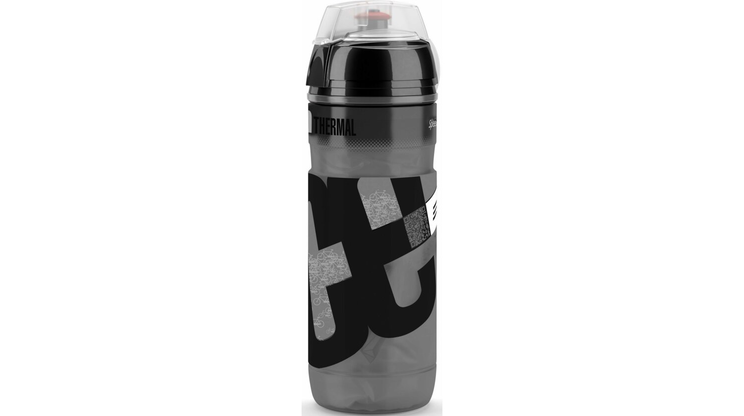Elite Iceberg 2H New Design Thermo-Trinkflasche schwarz 500ml