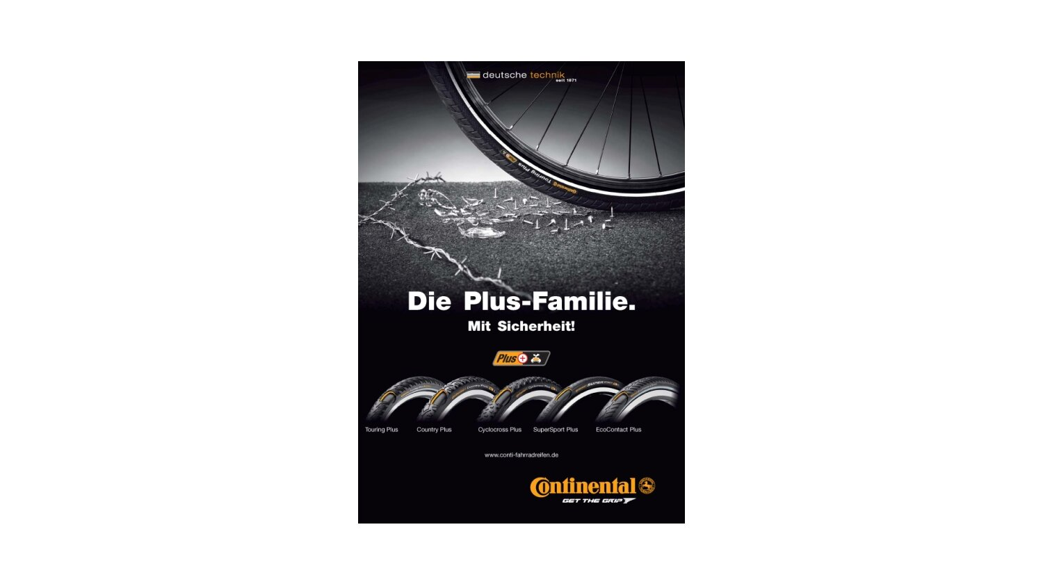Continental SuperSport Plus 28 Drahtreifen