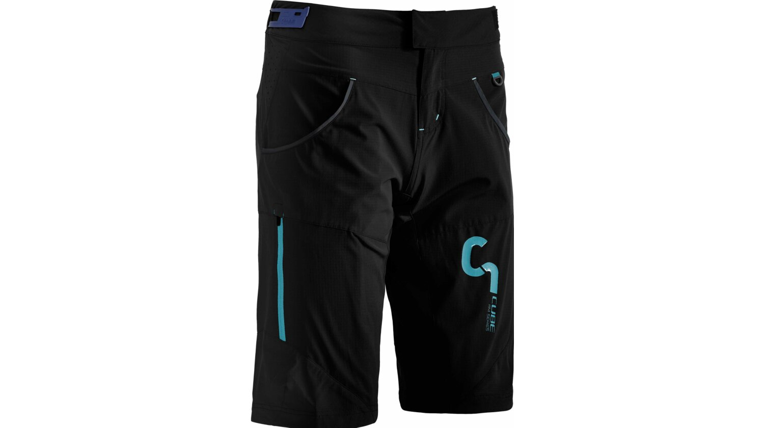 Cube AM WLS Shorts inkl. Innenhose black M (38)