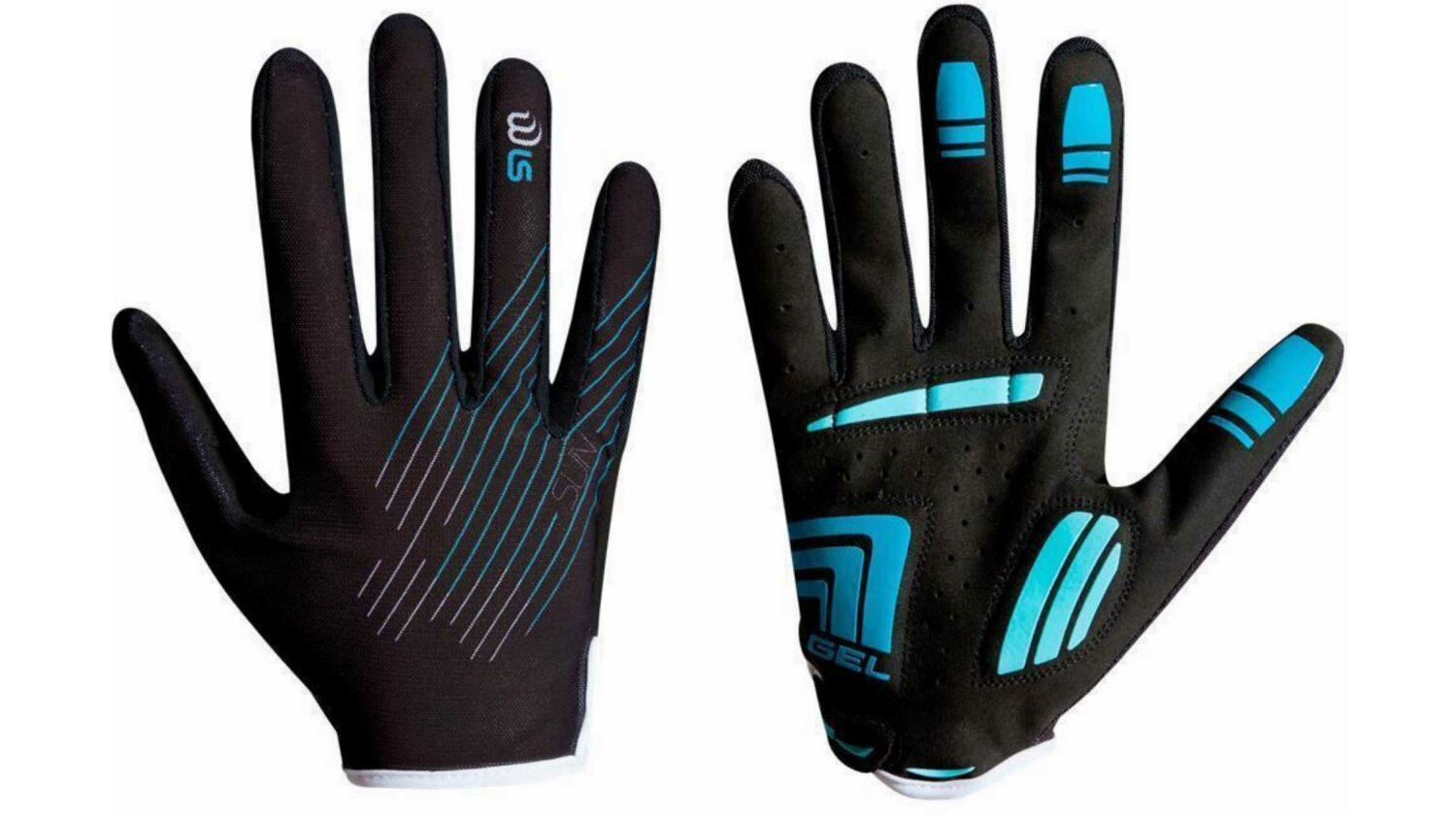 Cube Natural Fit WLS Handschuhe Sun Langfinger black�n�baby blue M (7)