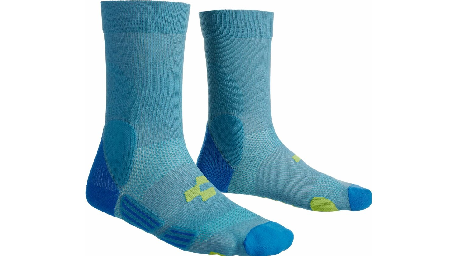 Cube Socke Mountain blue´n´lime 44-47