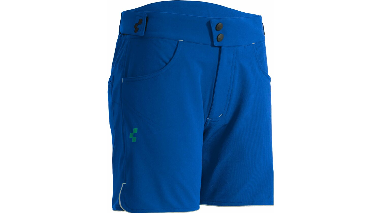 Cube TOUR WLS Shorts blue´n´green S (36)