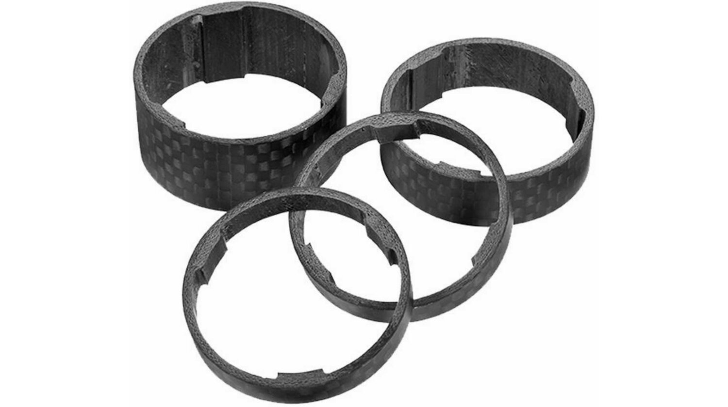 Cube Spacer Set carbon