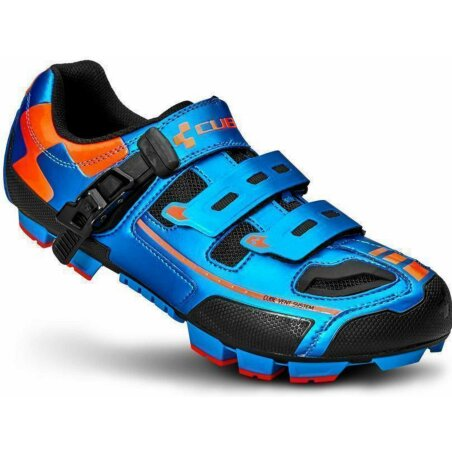 Cube Schuhe MTB PRO blue´n´flashred