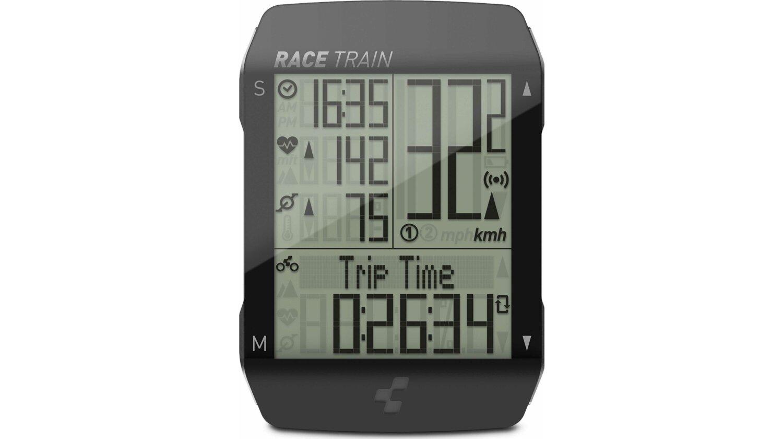 Cube Fahrradcomputer RACE TRAIN black´n´anthracite metallic
