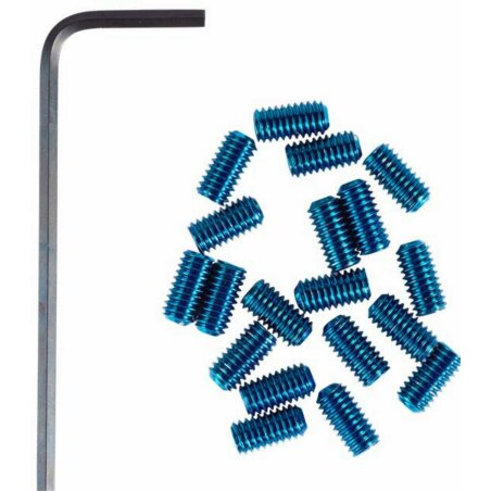 RFR Pedal-Pins Slug blue