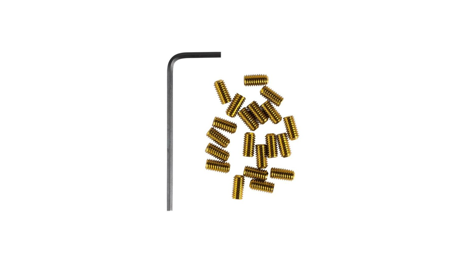 RFR Pedal-Pins Slug gold
