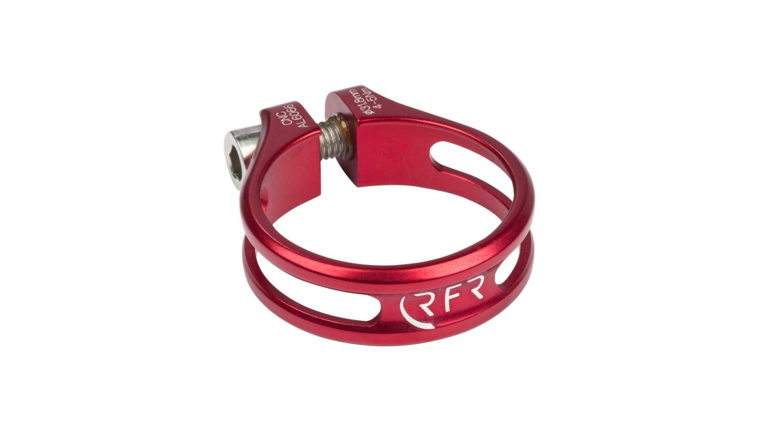 RFR Sattelklemme 31,8 mm Ultralight red