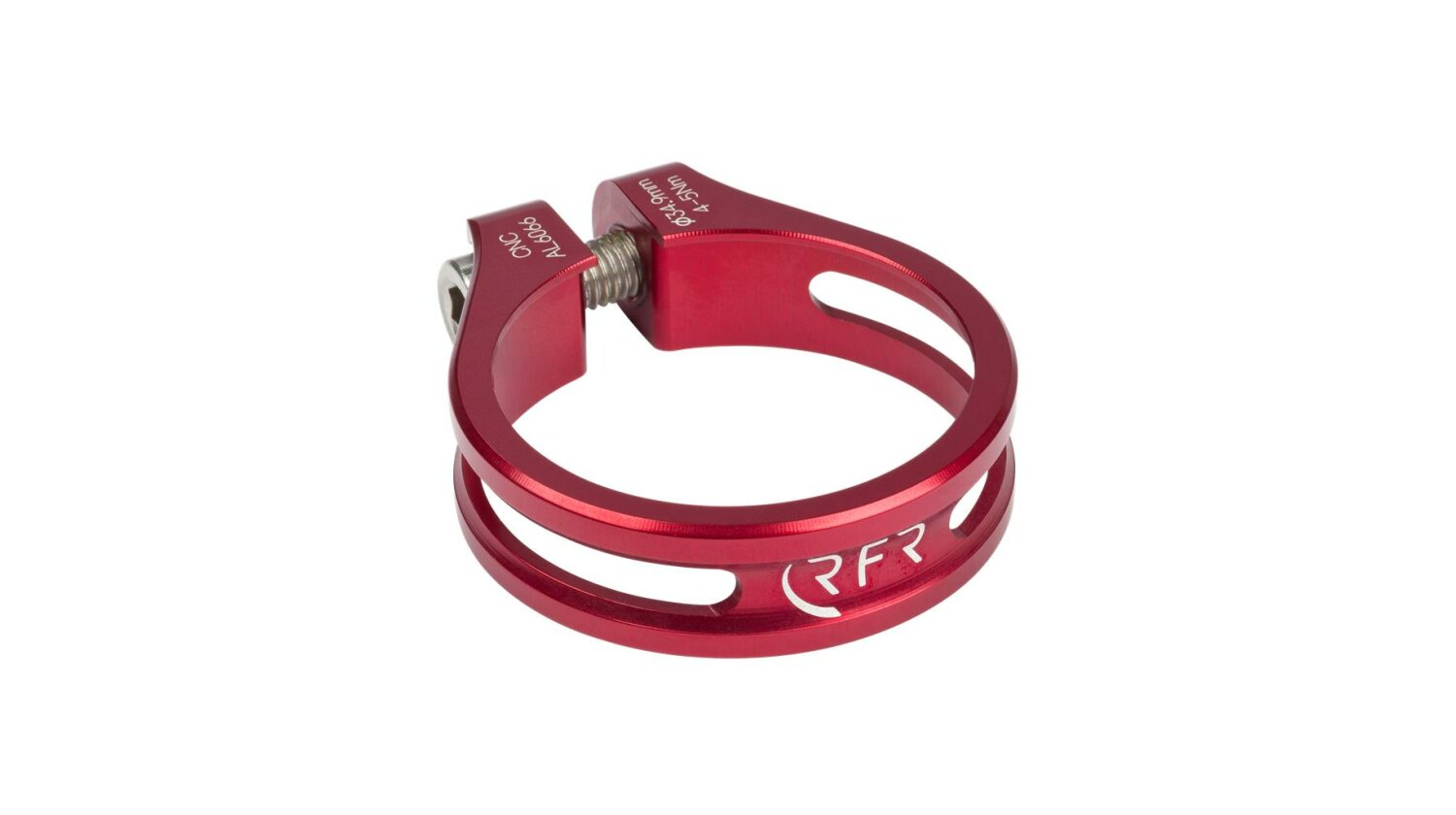 RFR Sattelklemme 34,9 mm Ultralight red