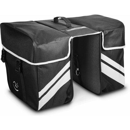 RFR Gepäckträgertasche Double black