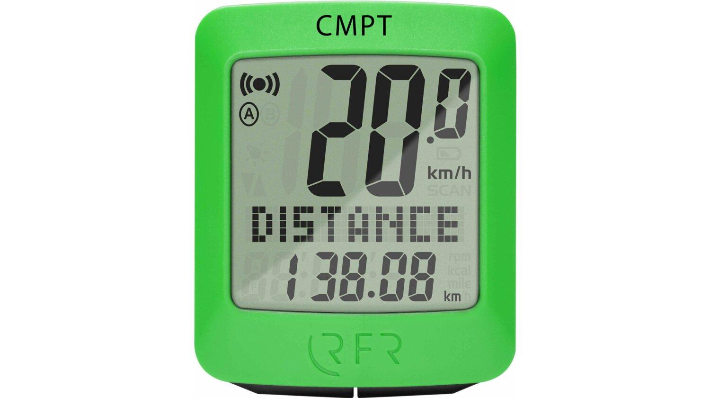 RFR Fahrradcomputer CMPT green