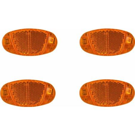 RFR Speichenreflektor CMPT Set orange