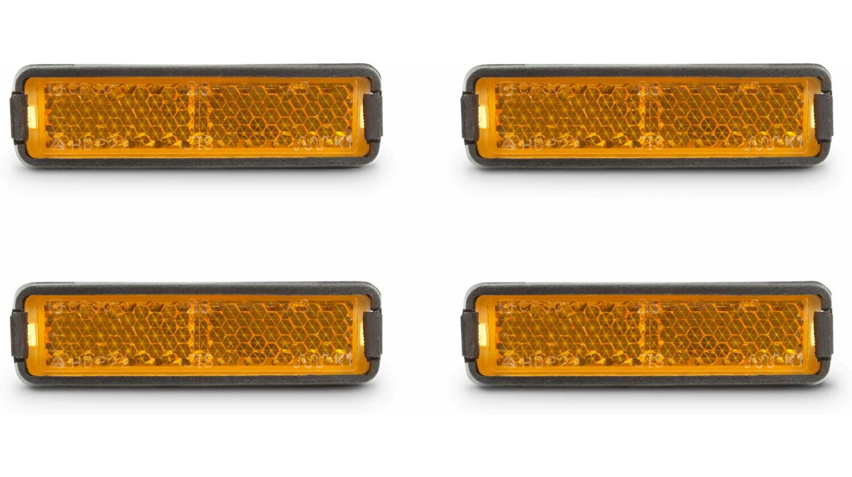 RFR Pedalreflektor-Set orange