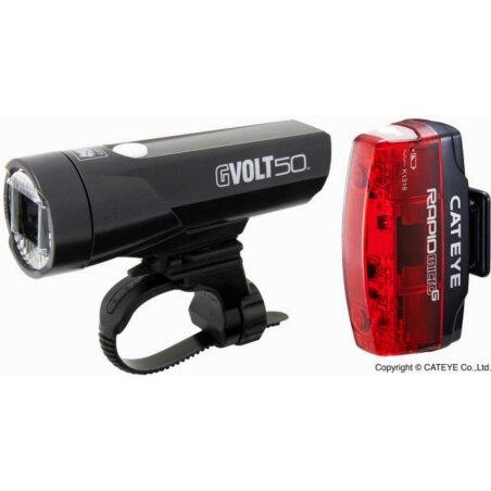 Cat Eye GVolt50 HL-EL550GRC + Rapid Micro G HL-EL620G...