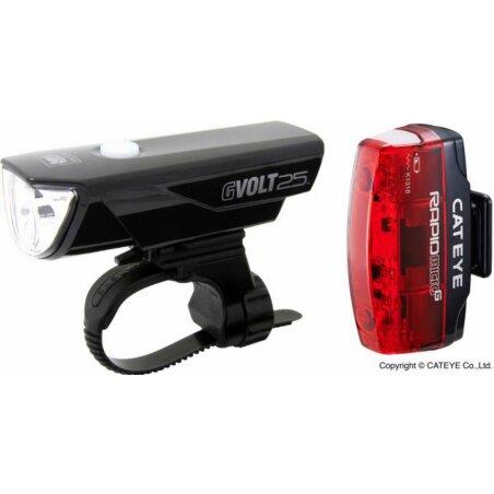 Cat Eye GVolt25 HL-EL360GRC + Rapid Micro G HL-EL620G...