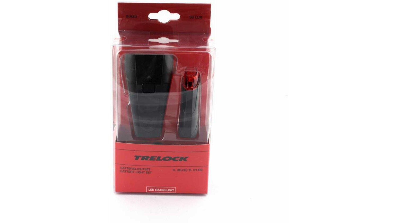 Trelock TL30-FB + 01-RB Beleuchtungsset