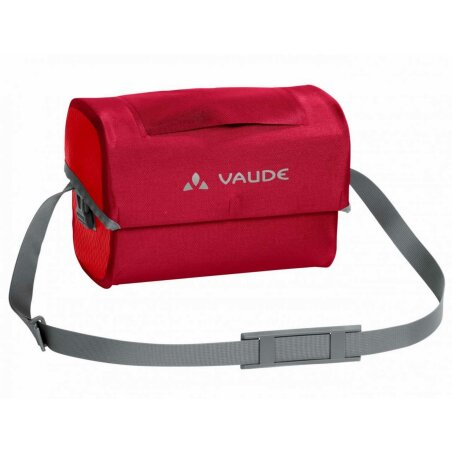 Vaude Aqua Box Lenkertasche indian red