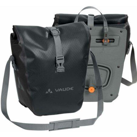 VAUDE Aqua Front Paar Gepäckträger Tasche black