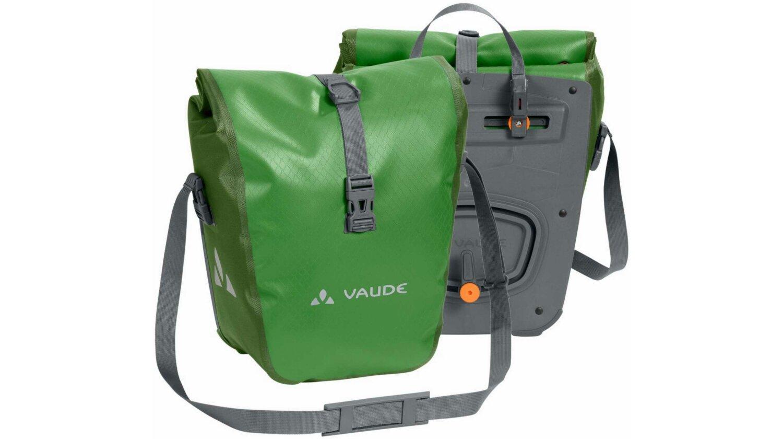 VAUDE Aqua Front Paar Gepäckträger Tasche parrot green