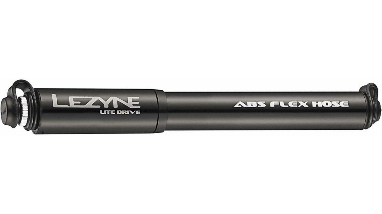 Lezyne Lite Drive Minipumpe schwarz-glänzend M/ 21,6 cm