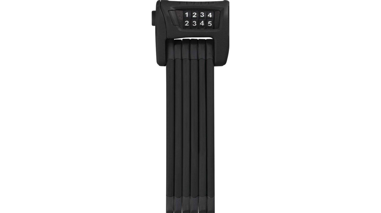 Abus Bordo Combo 6100/90 SH Faltschloss 90 cm schwarz