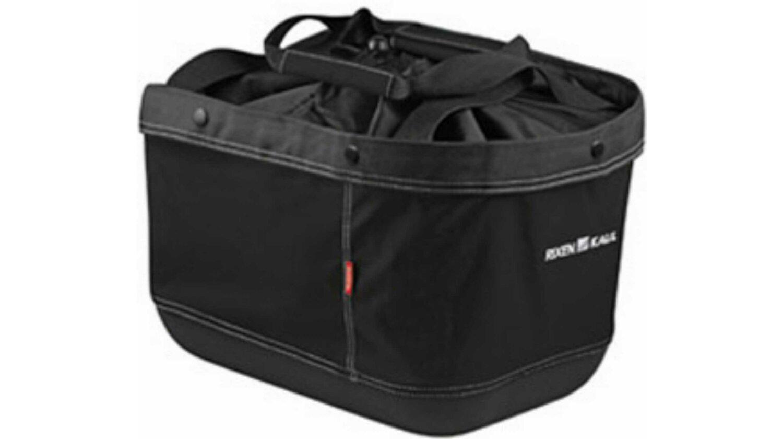 KLICKfix Shopper Alingo GT Gepäckträgertasche für Racktime schwarz