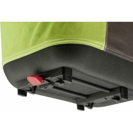 KLICKfix Shopper Alingo GT Gepäckträgertasche für Racktime grün/braun