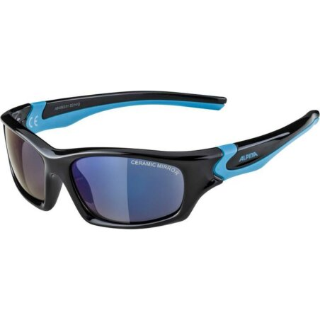 Alpina Flexxy Teen Kinderbrille black-cyan
