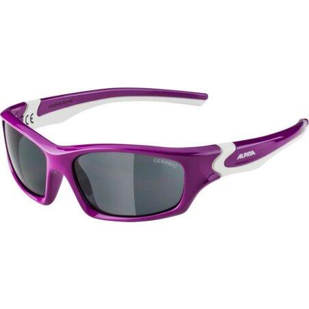 Alpina Flexxy Teen Kinderbrille berry-white