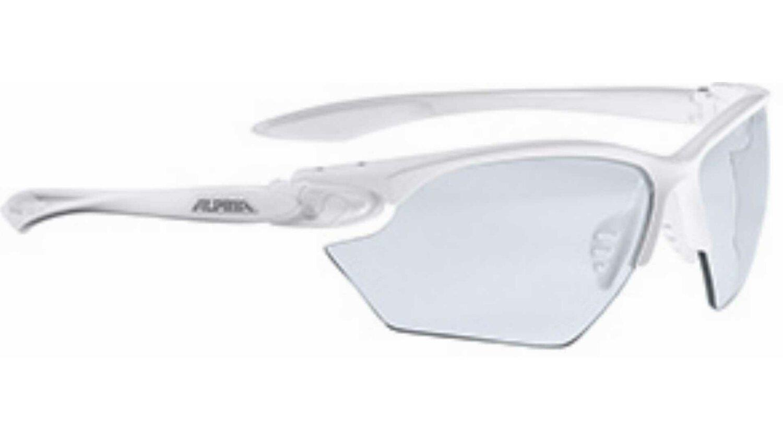 Alpina Twist Four S Varioflex + Brille white CV+